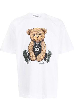 DOMREBEL Men Short Sleeve - Teddy bear-print T-shirt