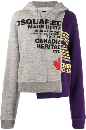 Dsquared2 Patchwork hoodie