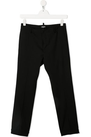 Dsquared2 Boys Formal Pants - TEEN slim-leg wool trousers