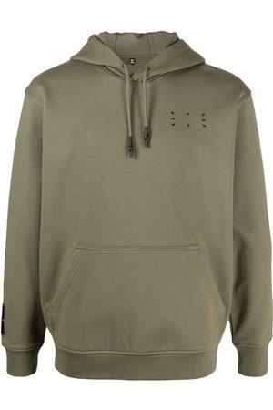 McQ Men Sweatshirts - Jack embroidered logo cotton hoodie