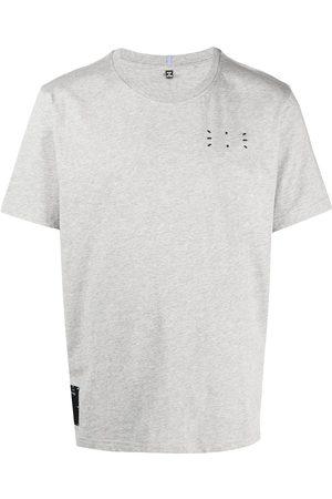 McQ Men Short Sleeve - Logo patch cotton T-shirt