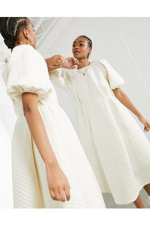 ASOS Women Midi Dresses - Quilted midi dress in