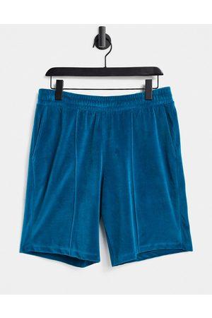 ASOS Shorts - Unisex oversized shorts in velour