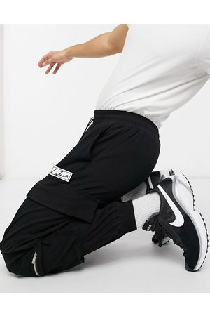 The Couture Club Men Joggers - Regular woven cargo joggers with pocket detail in
