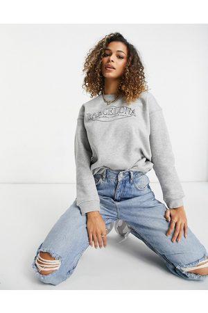 Lasula Sweatshirt with city slogan in