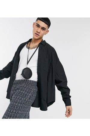 ASOS Men Casual - Extreme oversized dad shirt in