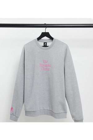 New Balance Romantic choice' sweatshirt in grey and - exclusive to ASOS