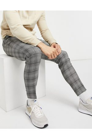 ASOS Super skinny smart trouser in check