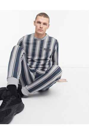 Another Influence Logo tracksuit in stripe