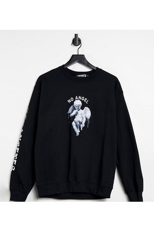 Missguided Sweat with no angel slogan in