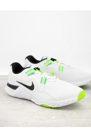 Nike Renew Retaliation TR 2 trainers in and green