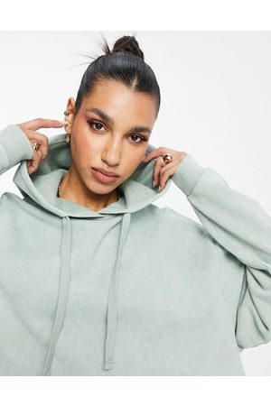 ASOS Oversized hoodie in washed sage
