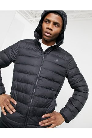 adidas Adidas Outdoors hooded puffer jacket in