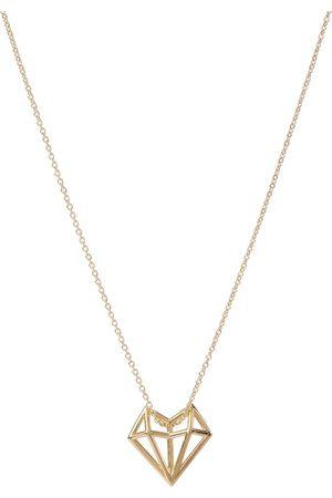 Aliita Exclusive to Mytheresa – Corazon 9kt yellow necklace