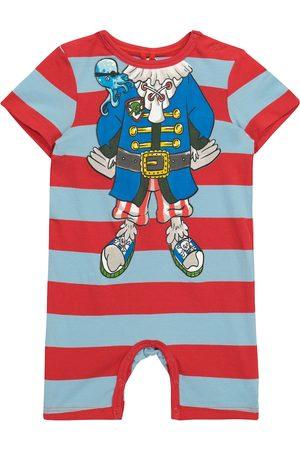 Stella McCartney Rompers - Baby striped cotton jersey bodysuit