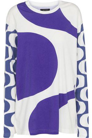 Isabel Marant Women Tops - Leilo printed cotton top