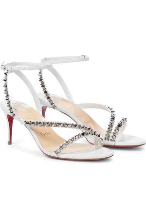 Christian Louboutin Mafaldina Spikes 70 leather sandals