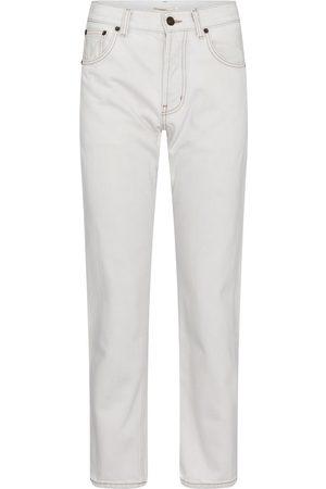 Saint Laurent Women High Waisted - High-rise straight jeans