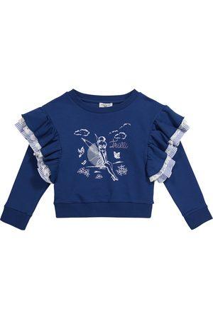MONNALISA X Disney® cotton-blend sweater
