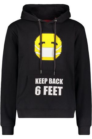 MOSTLY HEARD RARELY SEEN Graphic print hoodie