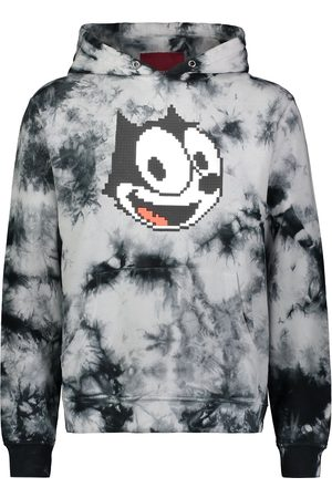 MOSTLY HEARD RARELY SEEN Men Sweatshirts - Graphic print tie-dye hoodie