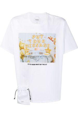 DOUBLET Slogan print T-shirt