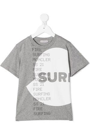 Moncler Surfing logo T-shirt