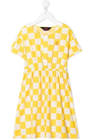 The Animals Observatory Plaid-check dress