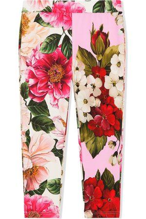 Dolce & Gabbana Floral-print trousers