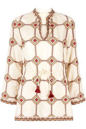 Tory Burch Geometric print blouse