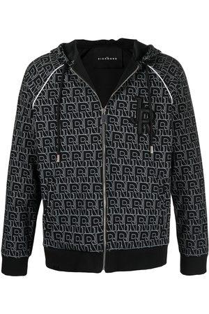 John Richmond Ignatius logo-print hoodie