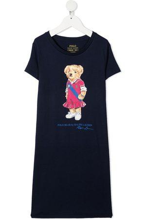 Ralph Lauren Teddy bear-print T-Shirt dress