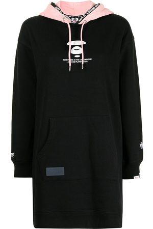 AAPE BY A BATHING APE Logo-print drawstring hoodie