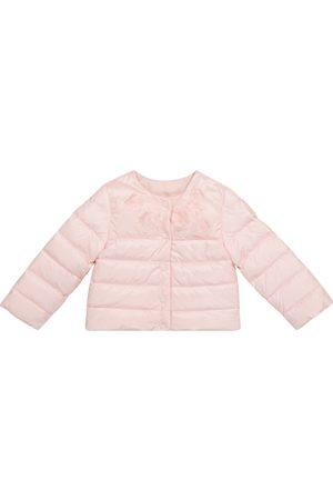 Moncler Enfant Baby Denisa floral down jacket