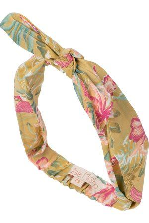 Louise Misha Cally floral cotton headband