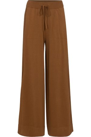 Dorothee Schumacher Women Wide Leg Pants - Easy Comfort cotton-blend trackpants