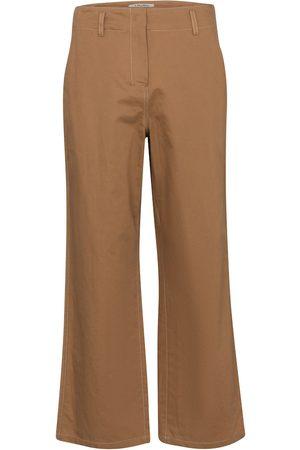 S Max Mara Faesite cropped cotton-blend pants