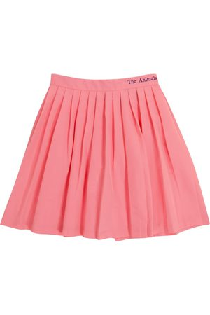 The Animals Observatory Cat pleated skirt