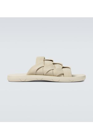 Bottega Veneta Men Sandals - Elasticated Intrecciato sandals