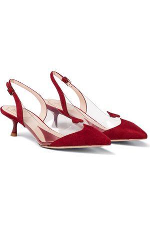 Roger Vivier Women Shoes - I Love Vivier 45 suede pumps