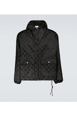 Gucci Men Parkas - Off The Grid hooded jacket
