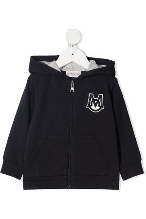 Moncler Enfant Logo-patch hoodie