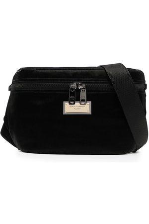 Dolce & Gabbana Men Belts - Logo-plaque belt bag
