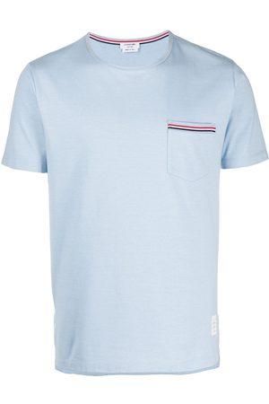 Thom Browne Short-sleeved pocket T-shirt