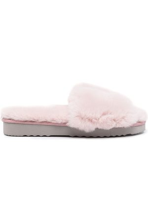Apparis Jasmine fur slippers