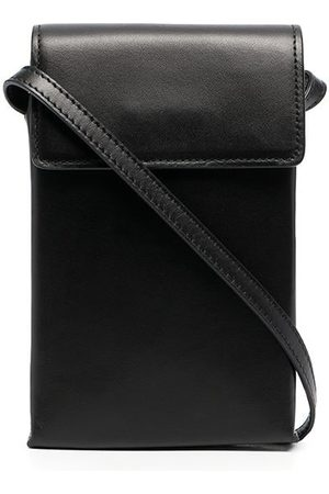 Sandro Paris Pouch leather shoulder bag