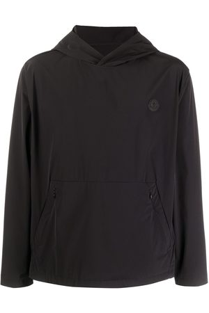Moncler Men Jackets - Perforated logo windbreaker