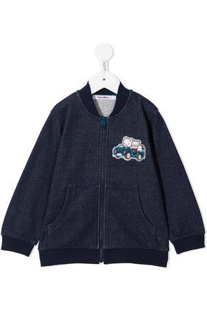 Familiar Boys Bomber Jackets - Embroidered bomber jacket