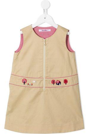 Familiar Embroidered sleeveless dress