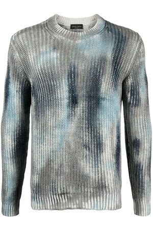 Roberto Collina Men Jumpers - Painted ribbed knit jumper
